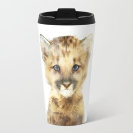 Little Mountain Lion Travel Mug