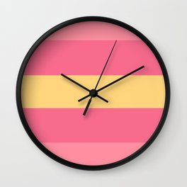Anais (triple) Wall Clock