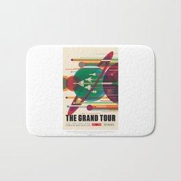 Grand Tour - NASA Space Travel Poster  Bath Mat