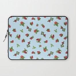 Cranberries blue background Laptop Sleeve