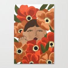 Stalker Gal Canvas Print