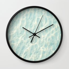 Beach Vibes Wall Clock