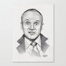 Top Quabbity Portrait Canvas Print