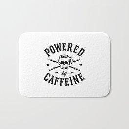 Powered By Caffeine Bath Mat