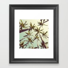 Palm Trees Sway  Framed Art Print