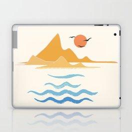 Minimalistic Summer III Laptop & iPad Skin