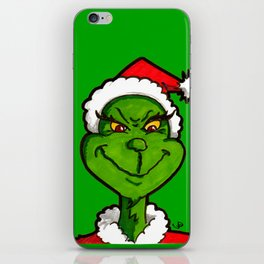 How Grinchy! iPhone Skin