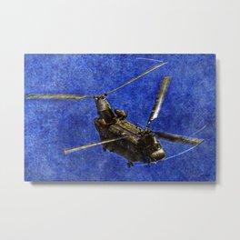 082 Chinook Metal Print