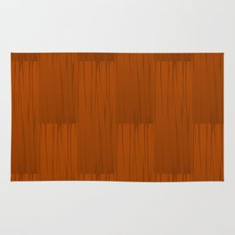 Wood Grain Pattern Rug