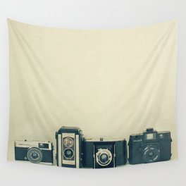 Camera Collection Wall Tapestry