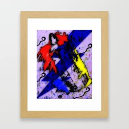 Airbrush Magic Framed Art Print