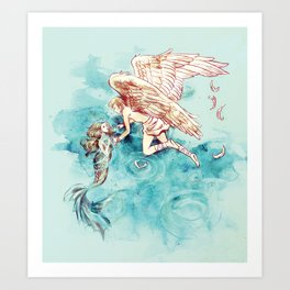 Star-cross'd Lovers Art Print
