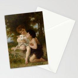 """William-Adolphe Bouguereau """"Les Enfants à L'Agneau (Children With the Lamb)"""" Stationery Cards"""