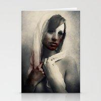blood Stationery Cards featuring Blood by Digital Asylum (Josh Winton)