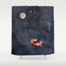 Fox Dream Shower Curtain