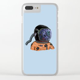 Sea Astronaut Clear iPhone Case