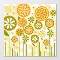 sunshine Canvas Prints featuring Sunshine by Shelly Bremmer
