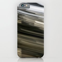 Black and White Abstract iPhone Case