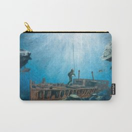 Deep Sea Diver Carry-All Pouch