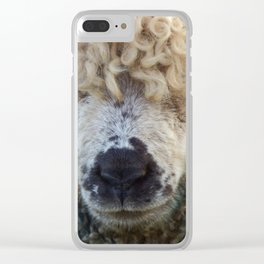 Sheep's Head Clear iPhone Case