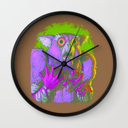 Death Is The Answer, For The Question Is I! Wall Clock