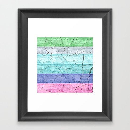 BEACH WOOD Framed Art Print