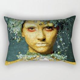 Ice Dancer Rectangular Pillow