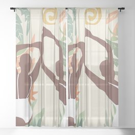Happy Sheer Curtain
