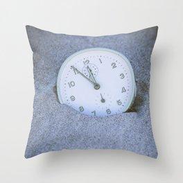 Five to Twelve Throw Pillow