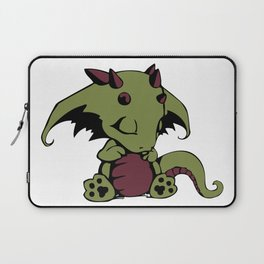 Sleepy Baby Dragon Laptop Sleeve