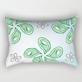 flower leaves Rectangular Pillow