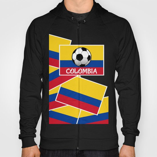 Colombia Football Hoody