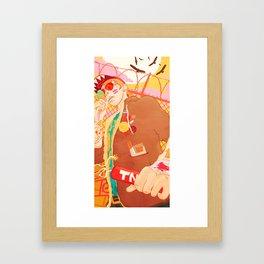 Cavity Kid Framed Art Print