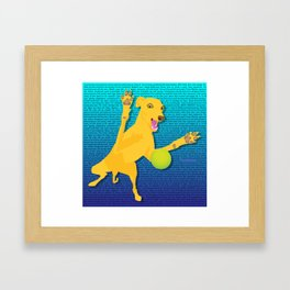 The one and only Movitz Framed Art Print