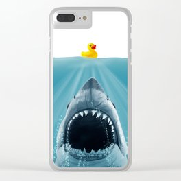 Save Ducky Clear iPhone Case