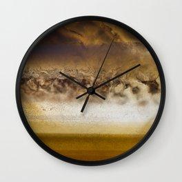 Belt Of Jupiter Wall Clock