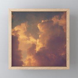 After the Storm (Pink Version) Framed Mini Art Print
