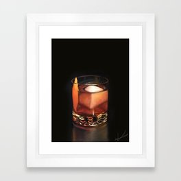 Call Me Old Fashioned Framed Art Print