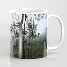 Foggy brazilian forest Coffee Mug