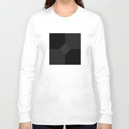 Simply Black on Black Long Sleeve T-shirt