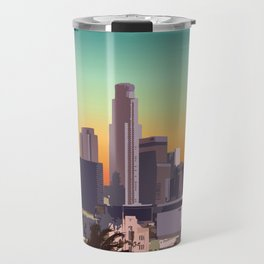 Downtown Los Angeles Travel Mug