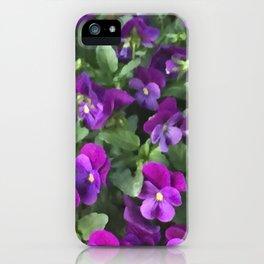 Botanical Florals Zencolor2 iPhone Case