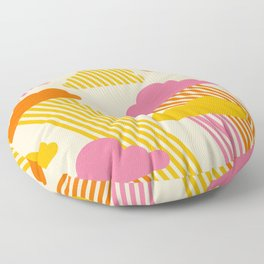 Pink Skies Floor Pillow