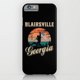 Blairsville Georgia iPhone Case