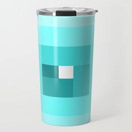 Blue Spiral Travel Mug