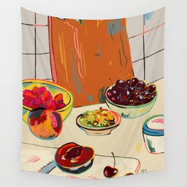 AUTUMN FRUIT Wall Tapestry