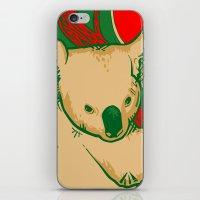 koala iPhone & iPod Skins featuring Koala by whiterabbitart