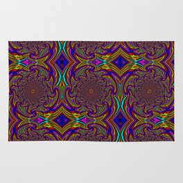 Wave Mandala - Multicolor Rug