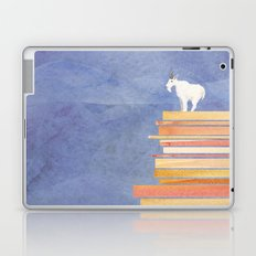 Goat on a Cliff Laptop & iPad Skin