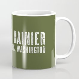 Deer: Mount Rainier, Washington Coffee Mug
